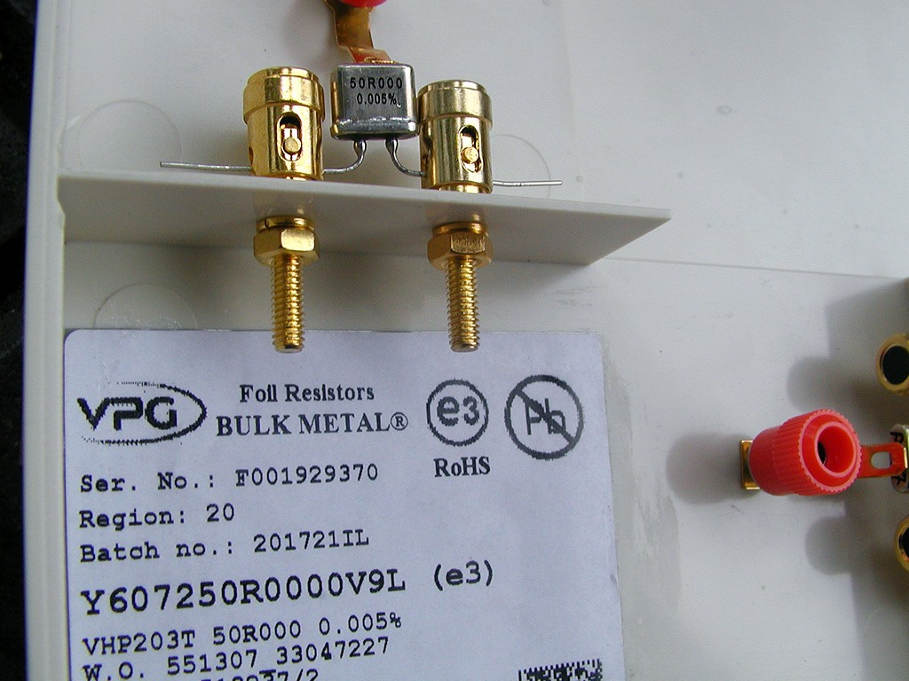 Ultra High Precision Resistors Box 1 12