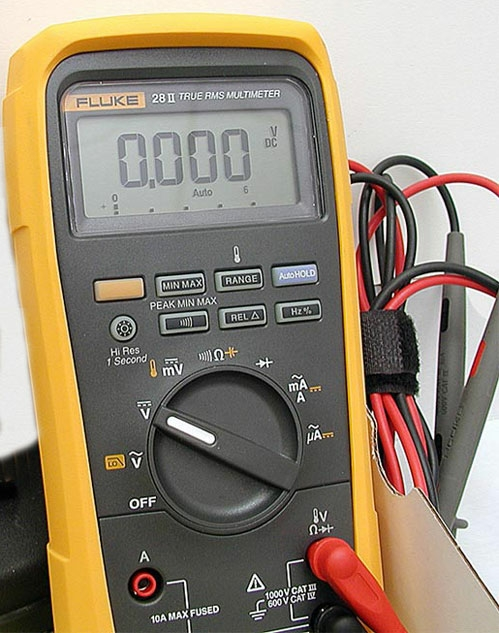 FLUKE 87V GSM issue