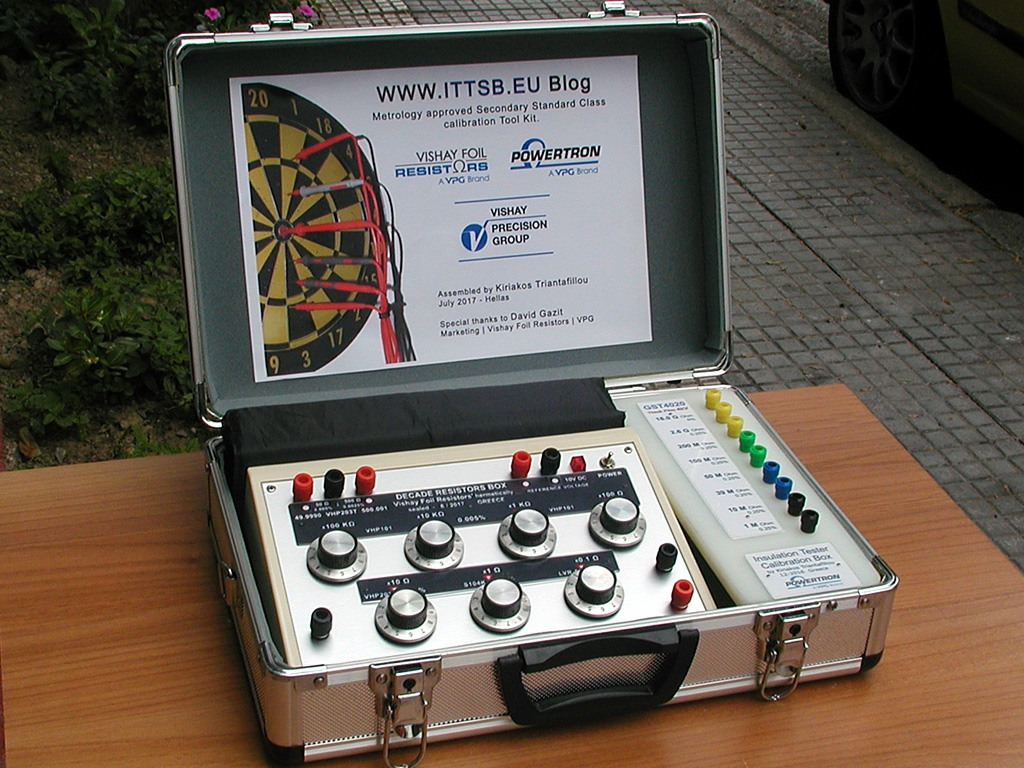 High Precision Decade Resistors Box Ultra Diy Resistance Verification For Insulation Testers With Up To 4000 Test Voltage First Project Vpg Powertron